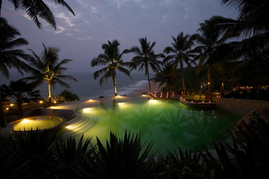 alt-text Pool at Niraamaya Surya Samudra Resorts in Kovalam 2