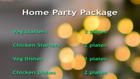 Home party package copy