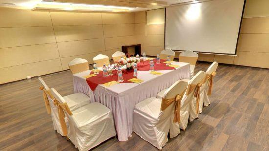 Iris Hotel Bangalore Conclave Conference Hall at Iris Hotel on Brigade Road Bangalore