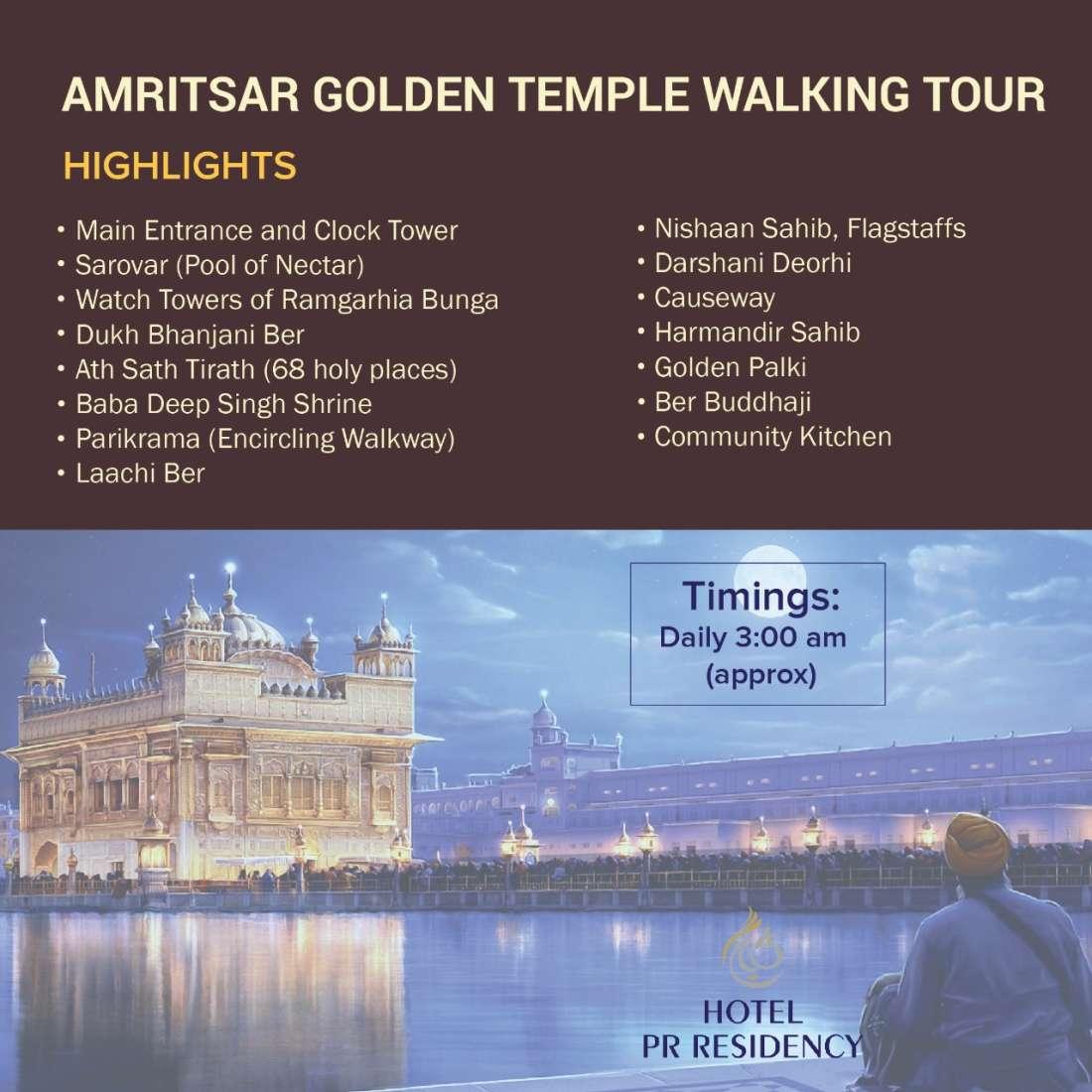 Golden Temple Walking Tour-Amritsar