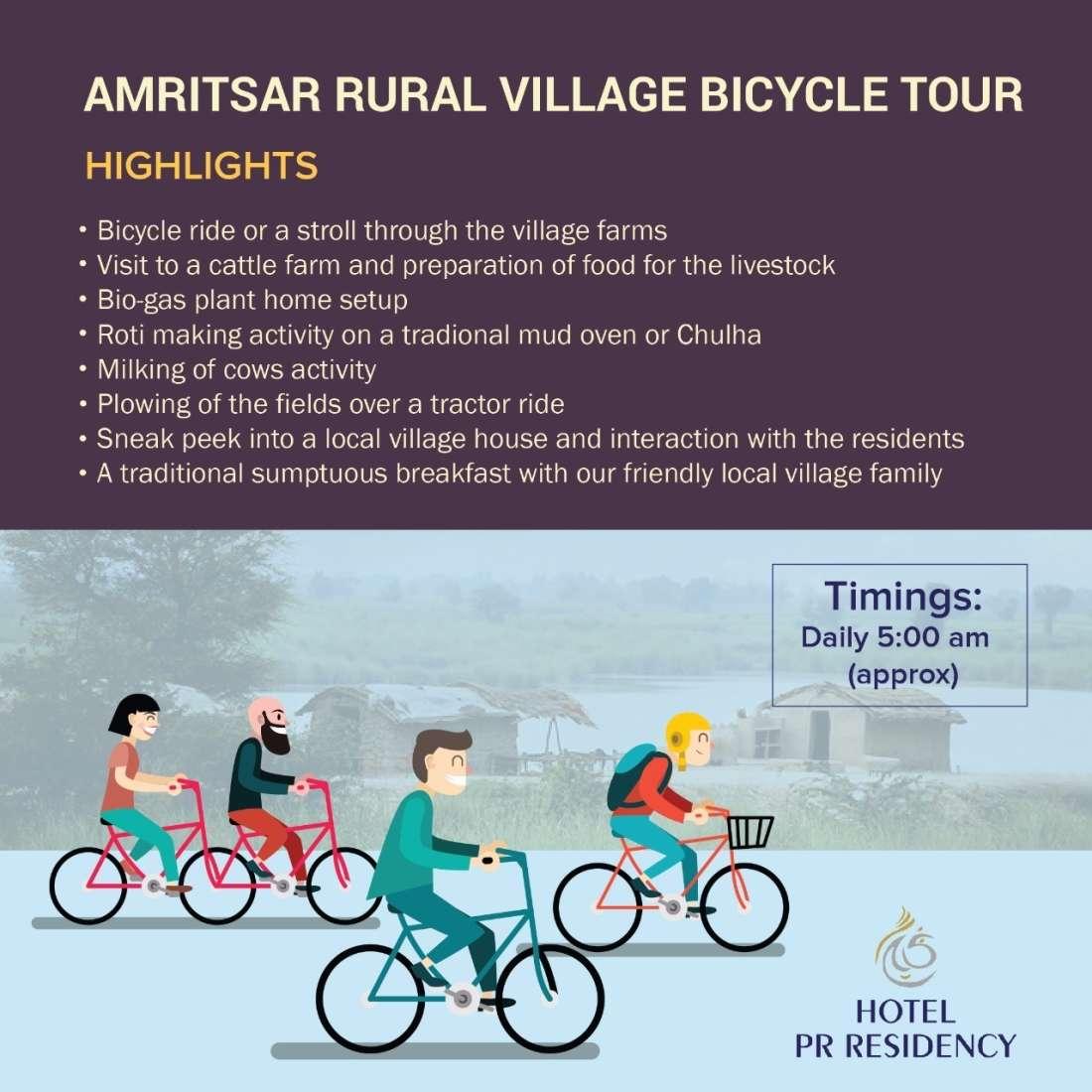 Village Tour -Amritsar - Hotel PR Residency