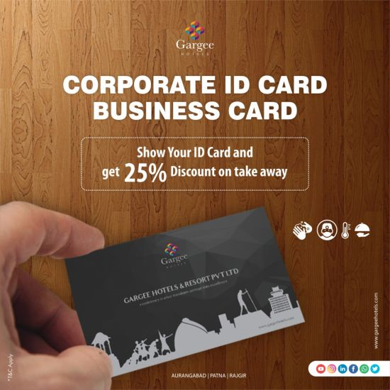 Discount on Business Card
