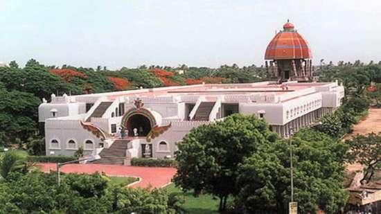 Valluvar Kottam Chennai, near Ambassador Pallava, Egmore Hotels
