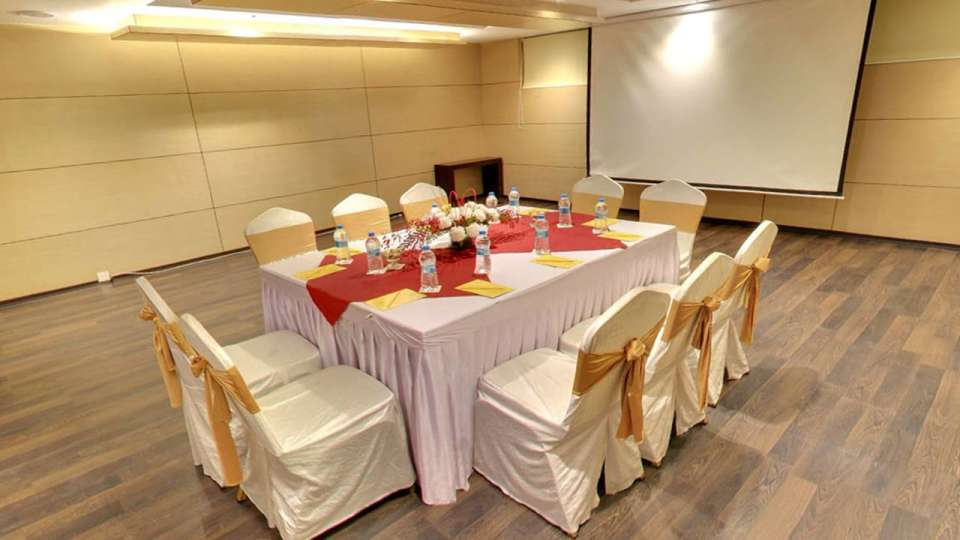 Iris Hotel Bangalore Conclave Conference Hall at Iris Hotel on Brigade Road Bangalore