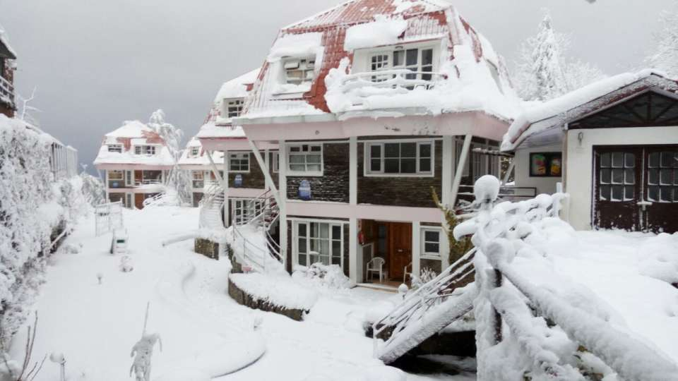 Facade Marigold Sarovar Portico Shimla, best resort in Shimla 1