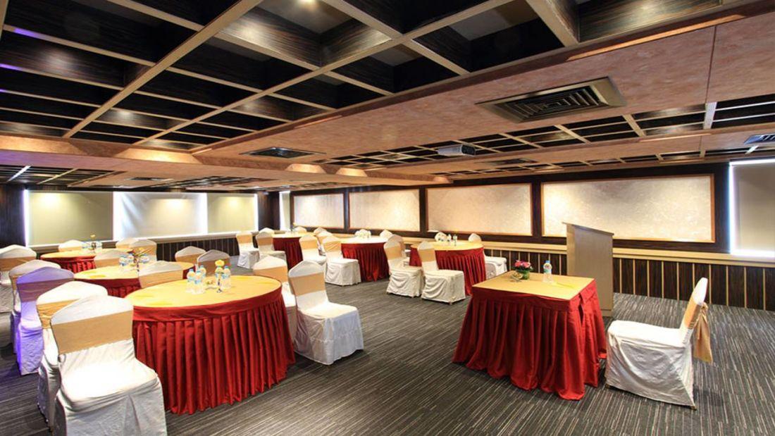 Iris Hotel Bangalore Oleander Conference Hall at Iris Hotel on Brigade Road Bangalore