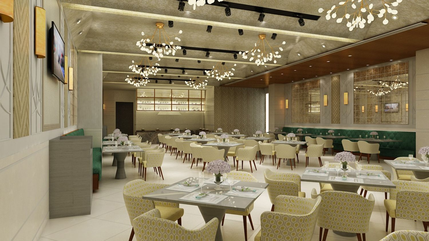flavours, restaurant at The Gaurs Sarovar Portico, Best hotels in Greater Noida 2