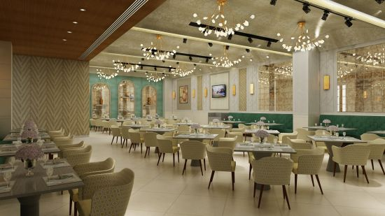 flavours, restaurant at The Gaurs Sarovar Portico, Best hotels in Greater Noida 1