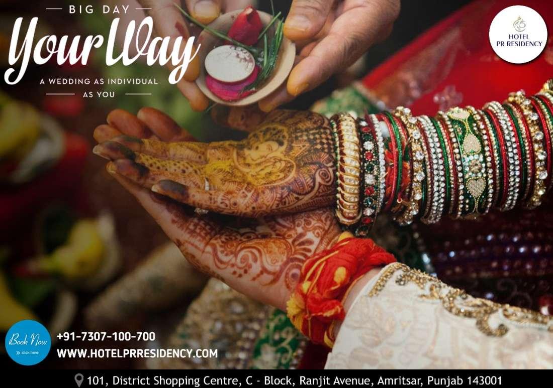 Banquet Wedding-Hotel PR -Amritsar