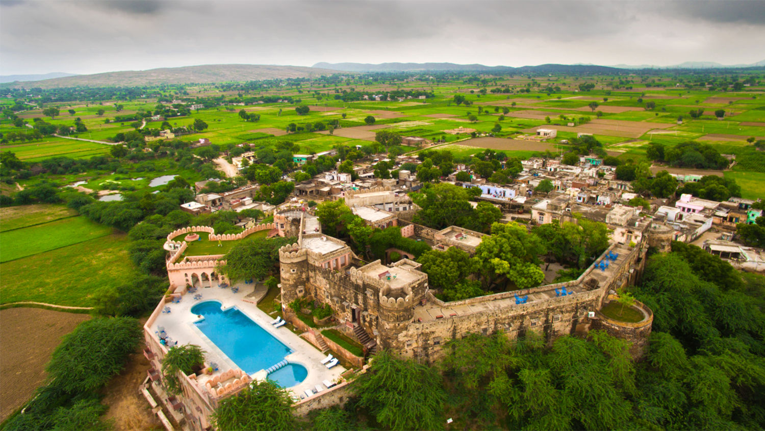 Hill Fort-Kesroli - 14th C, Alwar Kesroli Hill Fort-Kesroli Resort in Alwar Resort in Rajasthan