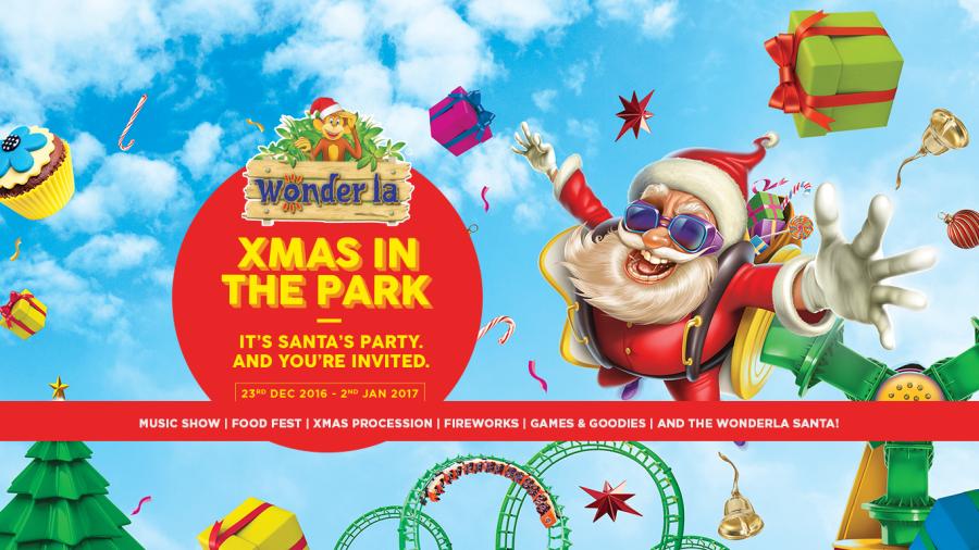 Wonderla Amusement Parks & Resort  Xmas webbanner 2