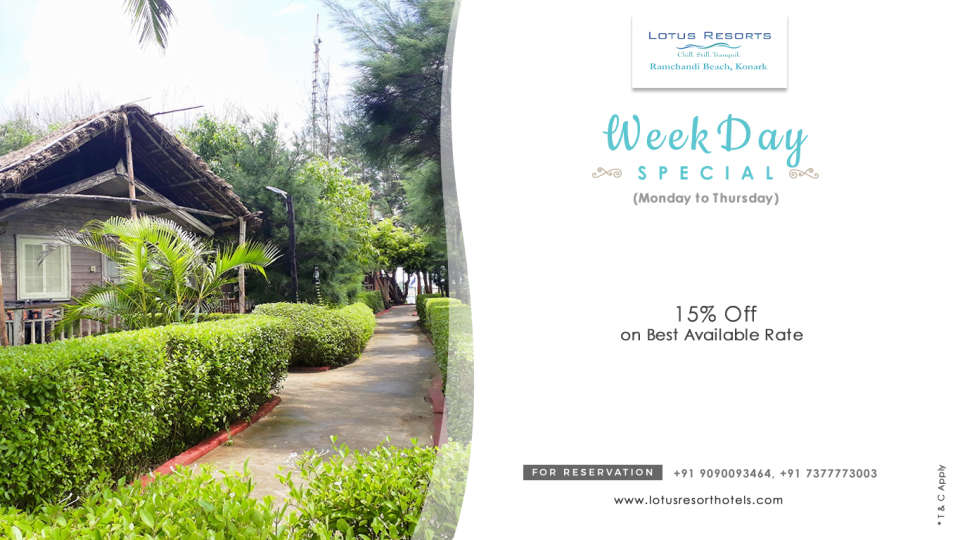 weekday special Feb 2019 web banner