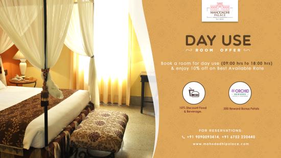 Mahodadhi Palace- Day Use Room