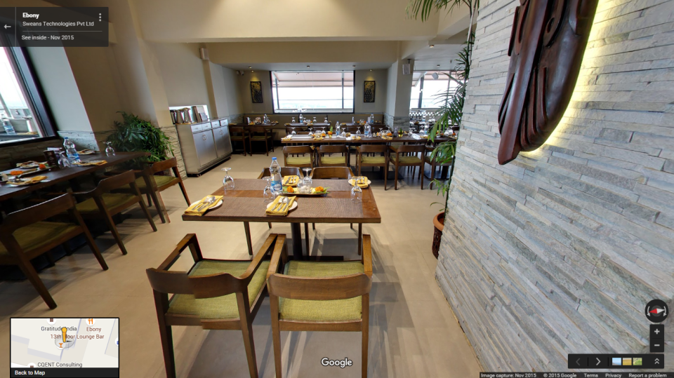 Hotel Ivory Tower, Bangalore Bengaluru Virtual tour Ebony Restaurant ivory tower