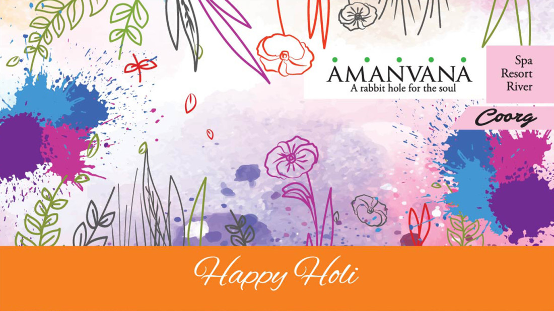 Activities in Coorg Hotels, Holi At Amanvana, Best Coorg Resort  12