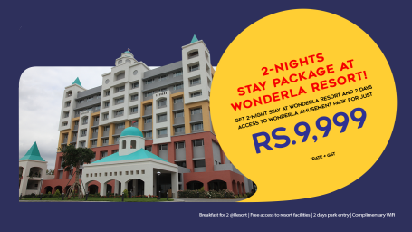 WEBSITE-BANNER RESORT Wonderla Resort Bangalore