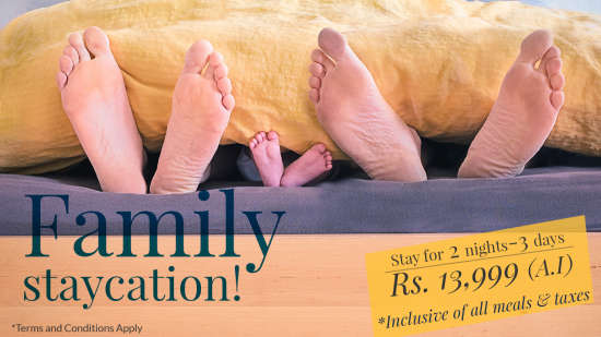 Family-Staycation at Ambassador Ajanta Aurangabad