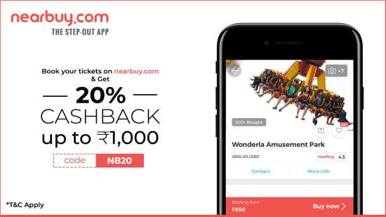 wonderla nearbuy.com offer