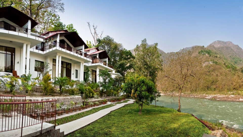 Neemrana Hotels  The Glasshouse on the Ganges Neemrana Hotels Hotels in India