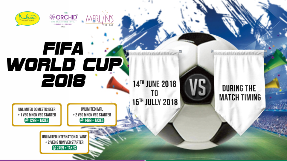 Fifa World Cup at Orchid Hotels