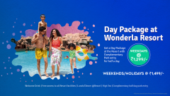 Day package at resort
