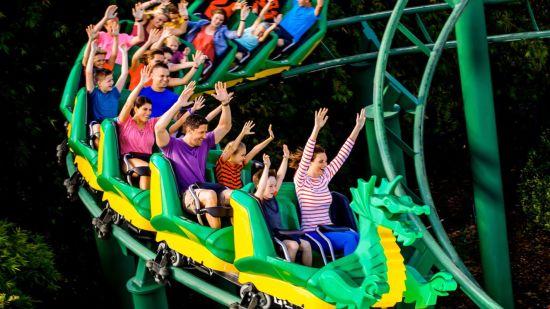 Black Thunder Water Theme Park, Dragon Coaster,  Black Thunder