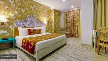 Suite-with-Balcony at Summit By The Ganges Beach Resort Spa Rishikesh-Master Image