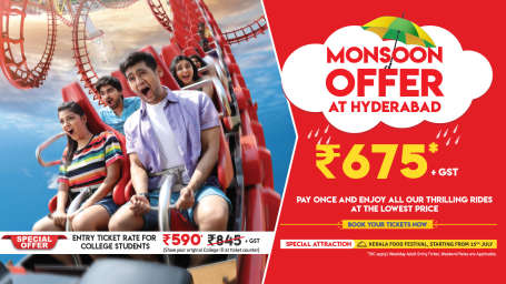 Monsoon offer Hyderabad Web Banner