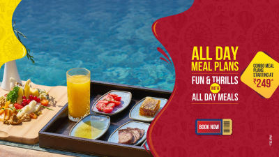Wonderla New Banners 2020 All Day Meals
