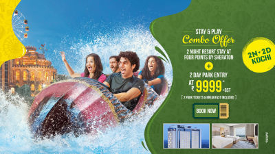 Wonderla New Banners 2020 Combo offer Kochi 9999
