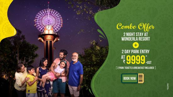 Wonderla New Banners 2020 Combo Offer 9999