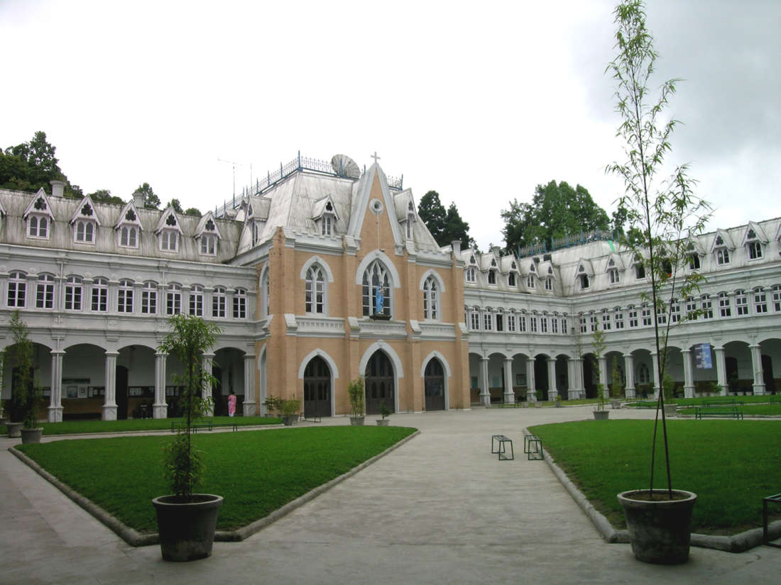Quadrangle St Josephs School Central Hotel Resort Darjeeling Central Hotels