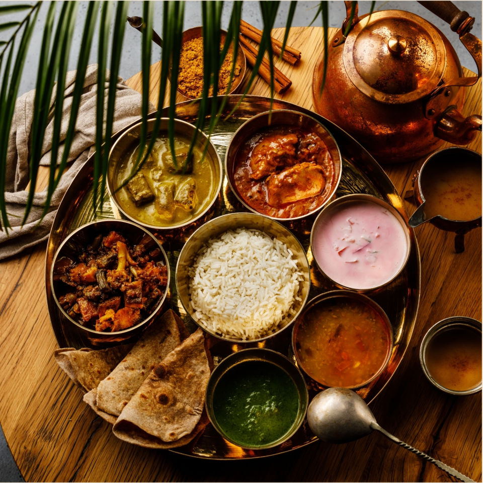 Food - Satvik Thali