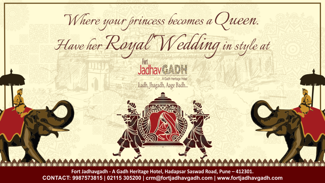 Fort Jadhavgadh Wedding Page at Fort Jadhavgadh Heritage Resort Hotel Pune