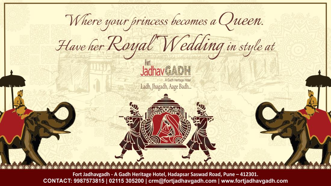 Wedding Venues In Pune, Fort JadhavGADH, Banquet Halls In Pune