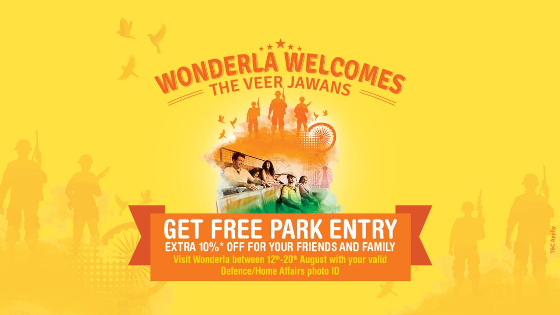 Wonderla Amusement Parks & Resort  Webbanner