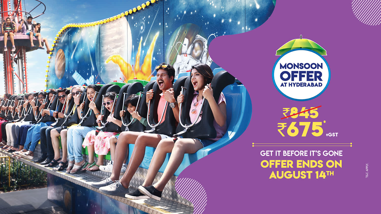 Wonderla Hyderabad Park | Amusement Park in Hyderabad