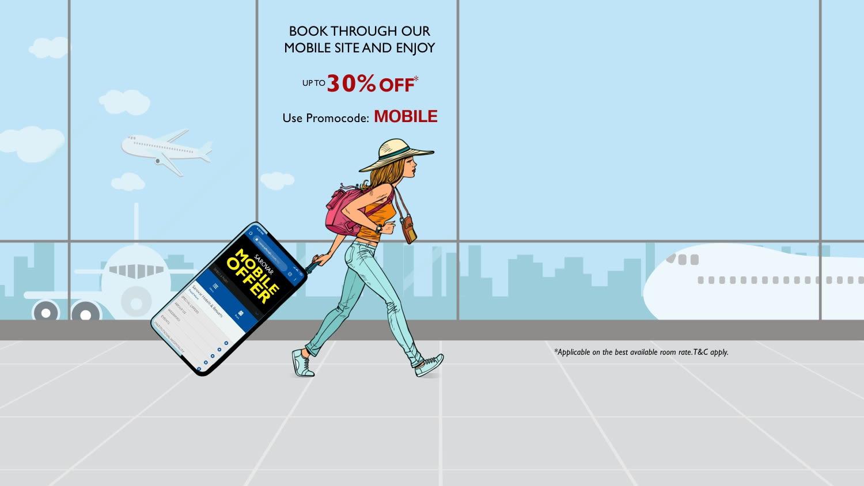 Mobile-site-offer website-banner