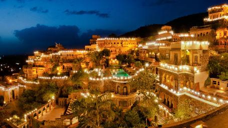 Facade Premises  Neemrana Fort Palace  palace hotel in Rajasthan 13