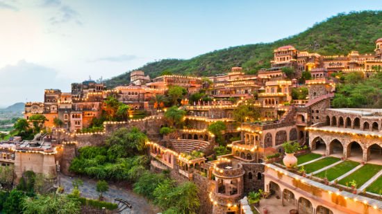 Facade Premises  Neemrana Fort Palace  palace hotel in Rajasthan 14 2