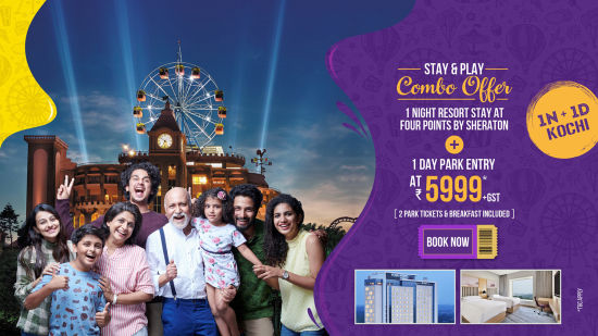 Wonderla New Banners 2020 Combo offer Kochi 5999