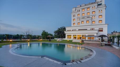 Swimming Pool at Hotel Royal Sarovar Portico Siliguri Hotels 3