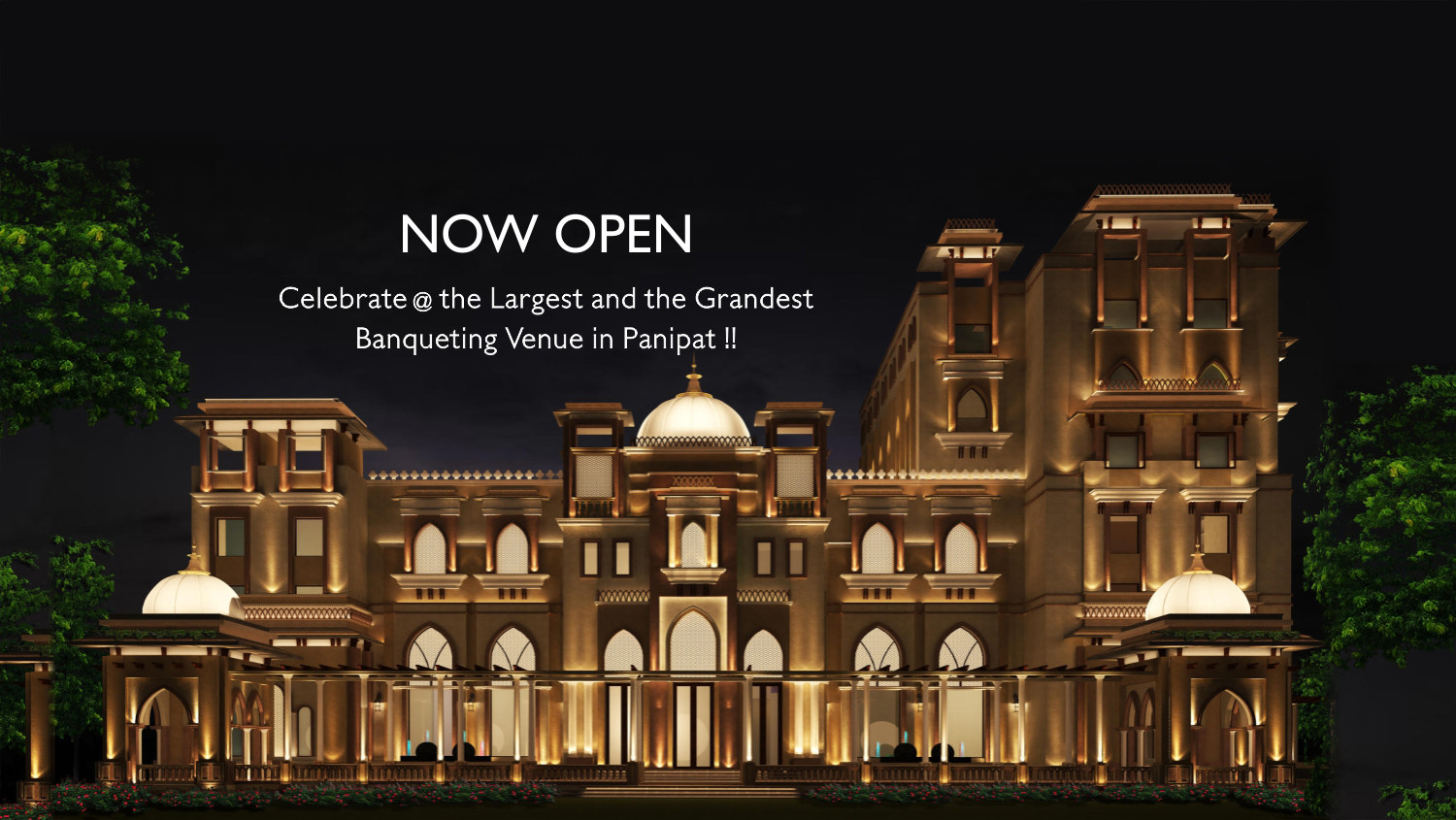 Now Open Panipath-Web Banner