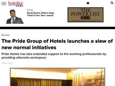 Hotelier India 15.5.2020