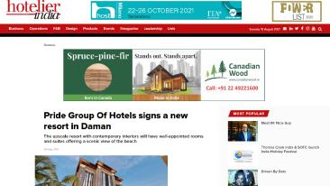 Pride-Group-Of-Hotels-signs-a-new-resort-in-Daman-Business-Hotelier-India