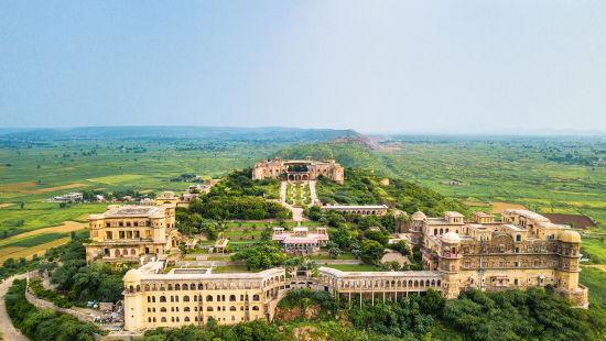 Facade_ Facade_Tijara Fort Palace_Hotel In Rajasthan_ Palace Hotel In Rajasthan 111