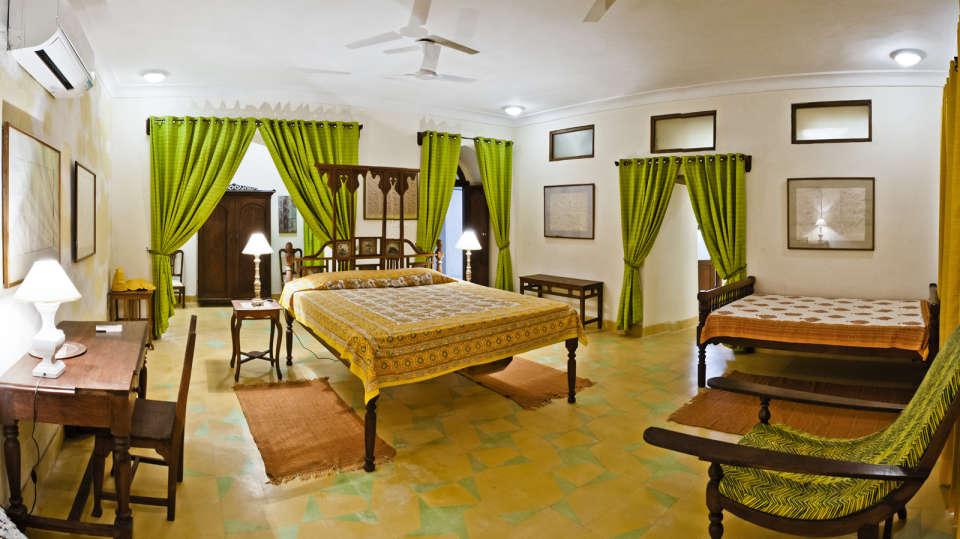 Aastha Mahal_ Tijara Fort Palace_ Hotel Rooms in Rajasthan_ Rooms Near Jaipur 1