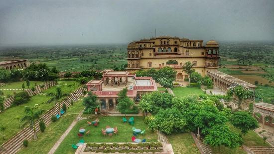 Facade_ Facade_Tijara Fort Palace_Hotel In Rajasthan_ Palace Hotel In Rajasthan 112