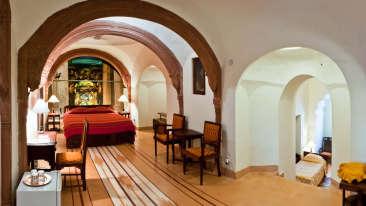 Kaleka Mahal 2 Facade_Tijara Fort Palace_Hotel In Rajasthan