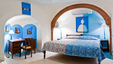Nandan Mahal 2 Facade_Tijara Fort Palace_Hotel In Rajasthan